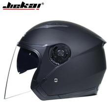 JIEKAI Helmet Motorcycle Open Face Capacete Motorcycle Helmet Motocicleta Cascos Para Moto Racing Motorcycle Vintage Helmets недорого