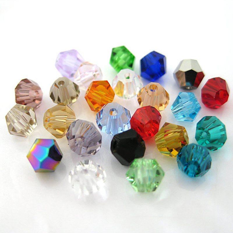 Detail Feedback Questions about Jewelry Beads Wholesale Lots 300 1000pcs  Acrylic Multicolor Beads Bicones 4mm 6mm 8mm Bicone DIY Bead Jewelry  Accessories on ... cb84de5d817d