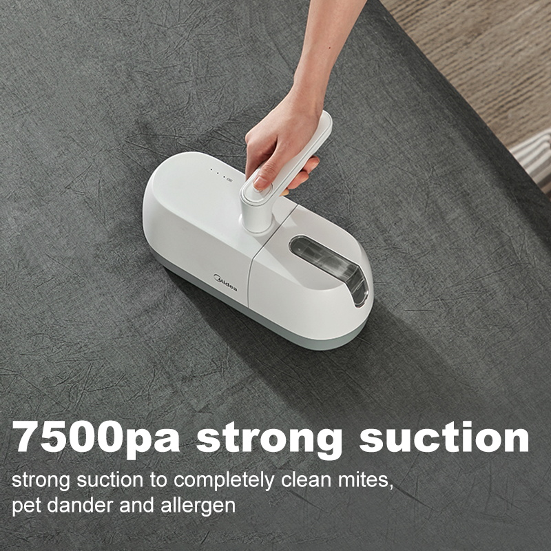Midea B5D Cordless Anti-Dust Mite Hand Vacuum Cleaner Rotatable 160mm UV Light 11000 times/minute High Tapping Machine
