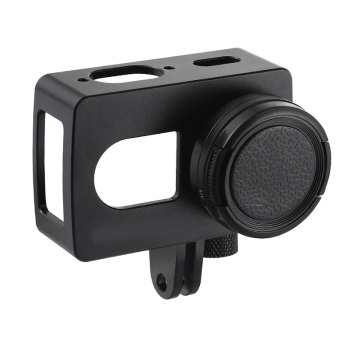 Aluminum Alloy Case for Xiaomi Yi 4K/ 4K+/2 Yi Lite Protective Cage Housing Frame Case for Xiaomi Yi 4K Action Camera Accessorie фото