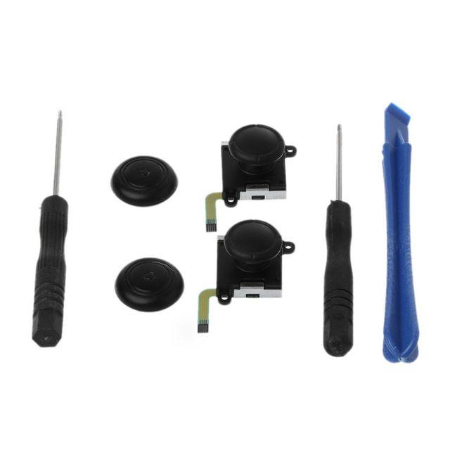 3D Аналоговый джойстик переключатель Стик контроллер модуль сенсор потенциометр ремонтный инструмент Замена Черный для Nintendo Switch