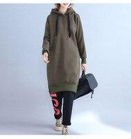 2018 New Fashion Hooeded Sweatshirt Women Elegant Split Ends Solid Long Sleeved Pullover Fashion High Quality