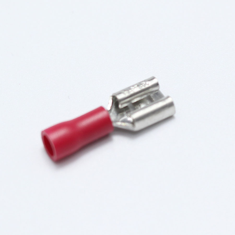 Red Ring Connector Electrical Crimp Terminals 0.5-1.5mm 4.3mm J6
