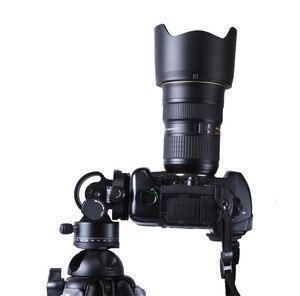 Image 4 - IShoot tout métal 2D 360 panoramique panoramique Panorama pince tête Ballhead pour Arca Fit caméra plaque de dégagement rapide trépied monopode