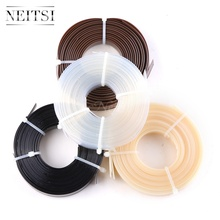 лучшая цена Neitsi 1Roll 50g Italian Glue Keratin Bonding Glue Fusion Flat Tip For Fusion Human Hair Extensions 4 Colors Fast Shipping