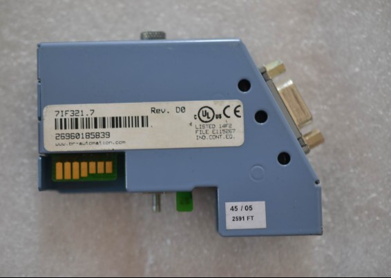 IF321 7IF321.7 PLC Module, used in good condition dhl ems omron remote communication module drt2 ros16 good in condition for industry use a1