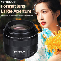 YONGNUO YN85mm F1.8 Remote Focus Lens in Full Picture Portait Larger Aperture Lens for Nikon