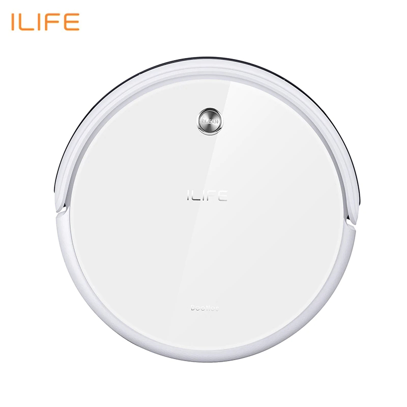New Robot Vacuum Cleaner iLife A40 for Home Household 450ml Dustbin with Self-recharge Cyclone Vacuums cleaner Dry Mopping european type power adapter for liectroux robot vacuum cleaner d6601 a325 a320 a335 a336 a337 a338