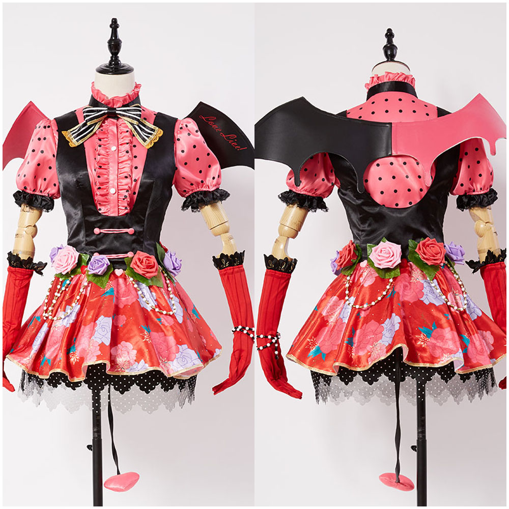 Love Live!lovelive New Umi Sonoda Little Demon/Devil Cosplay Costume Girls'cosplay dress Set party Halloween Carnival Costumes