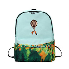 New Design Of Canvas Backpack For Women / Girls – Several Patterns and Colors Available