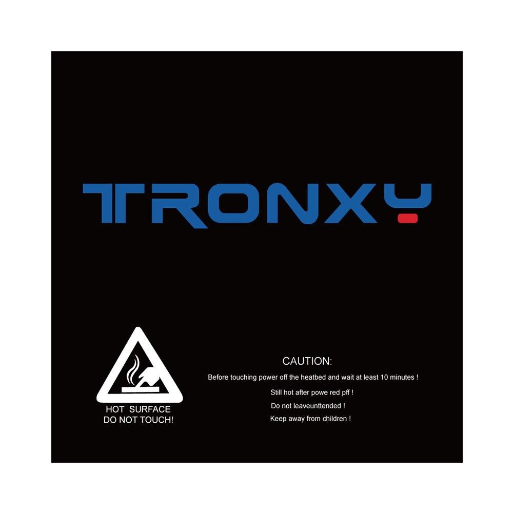 Tronxy Black Masking Tape 3d Printer Heatbed Sticker Hotbed Tape 210*200mm 330*330mm