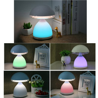 LED mushroom atmosphere lamp Romantic Night Light Multicolor Portable Night Light for Baby with Touch Control 40DC31