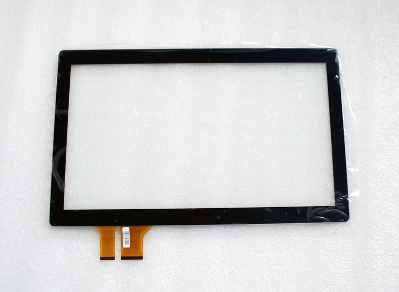 10 points 10.1 Inch Projected Capacitive Multi Touch Screen Overlay Kit, Multi Touch Panel with glass for lcd touch monitor