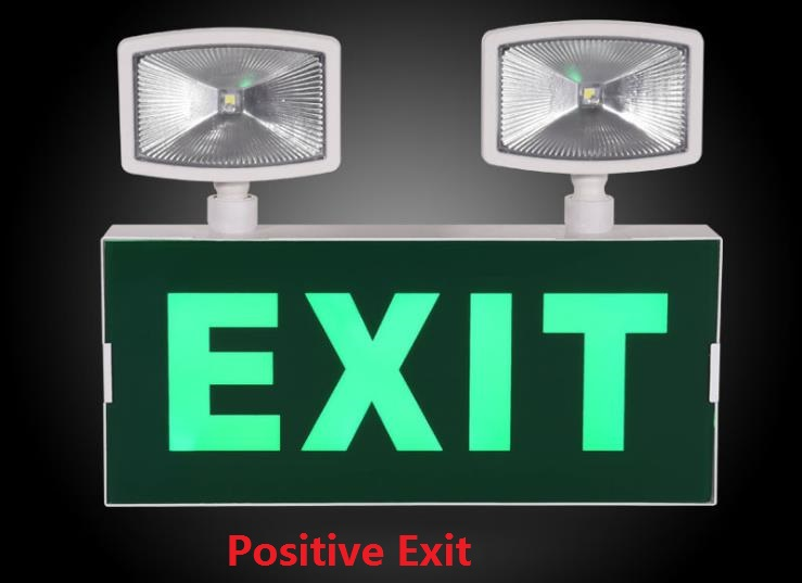 Multi-functional Emergency Light LED Double Head Direction Indicator Luminous Traffic Warning S