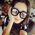 Retro Round Sunglasses Steampunk Goggles Eyeglasses Womens Mirror Lens Arrow Style Eyewear Glasses