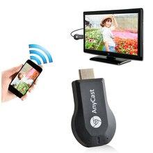 Адресации любому устройству группы M2 плюс AirPlay 1080 P Беспроводной Wi-Fi дисплей ТВ Dongle приемник HDMI Поддержка DLNA Miracast choremcast для телефонов anpc