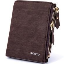 Кошелек RFID Theft Protect Coin Bag кошелек на молнии кошельки для мужчин с молниями волшебный кошелек Роскошные мужские кошельки и кошельки