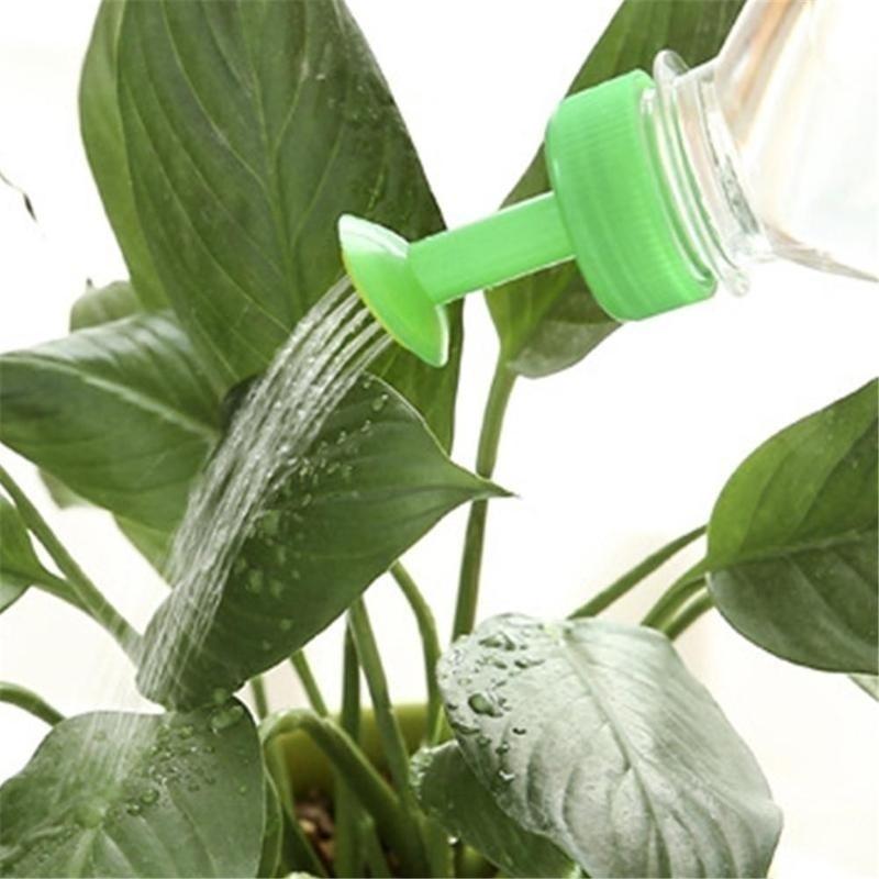 HTB1bF6fNNjaK1RjSZFAq6zdLFXa0 3pcs Gardening Plant Watering Attachment Spray-head Soft Drink Bottle Water Can Top Waterers Seedling Irrigation Equipment