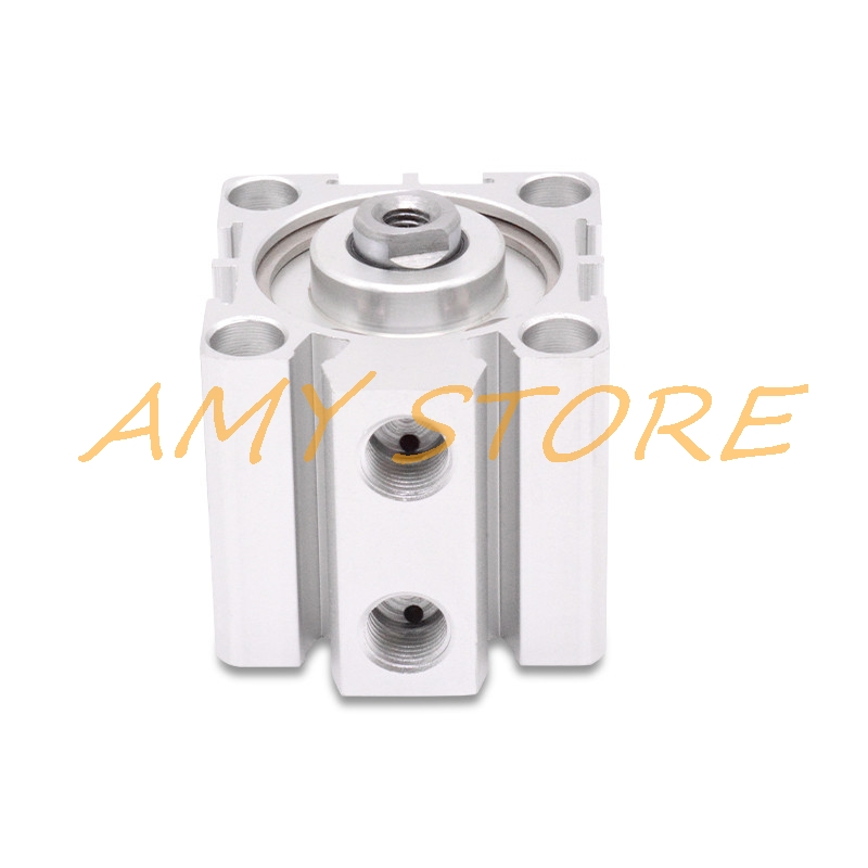 32mm Bore 15mm Stroke Stainless Steel Pneumatic Double Action Air Cylinder SDA32-1532mm Bore 15mm Stroke Stainless Steel Pneumatic Double Action Air Cylinder SDA32-15
