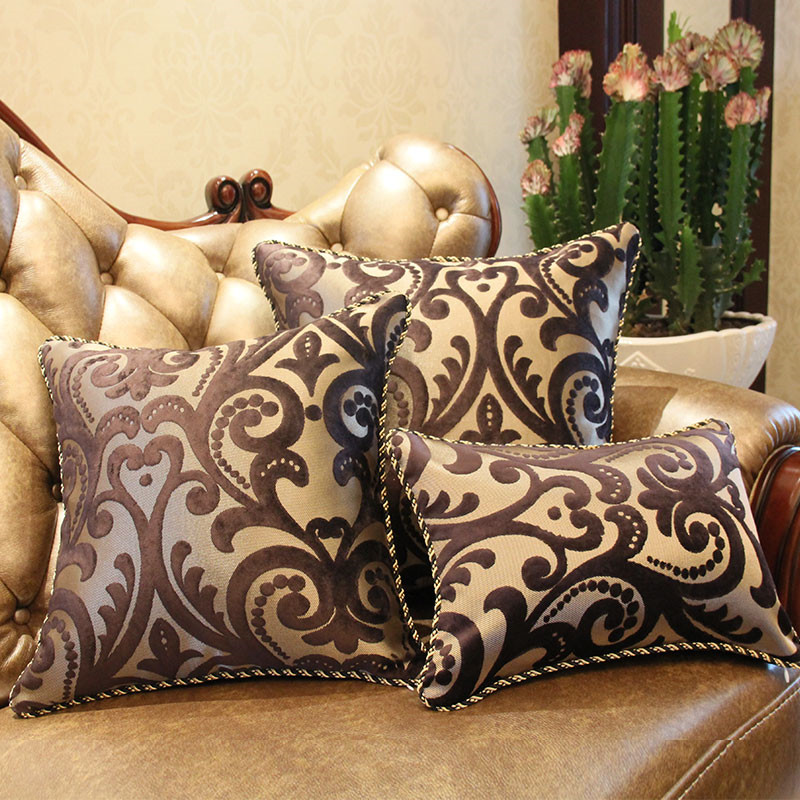 Aliexpress.com : Buy New Europe Style Luxury Sofa Decorative Throw Pillows Cushion Cover Home ...