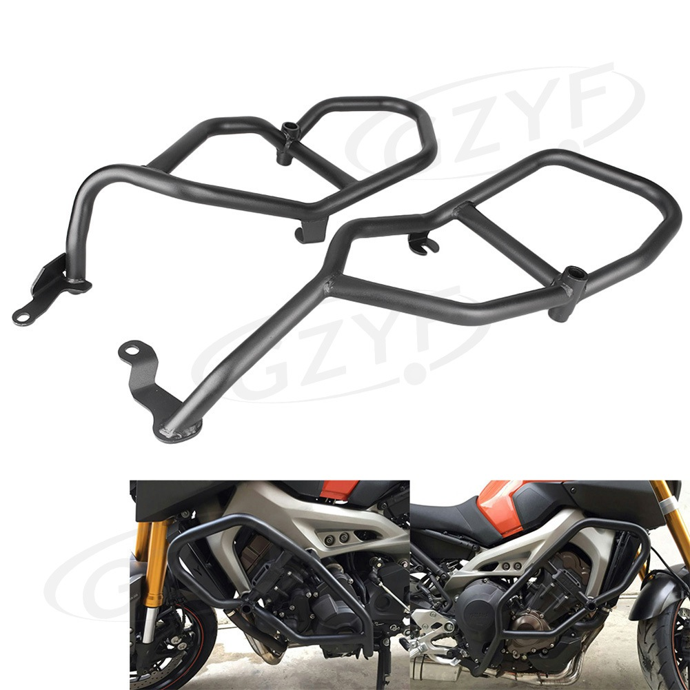 For YAMAHA MT-09 MT09 Front Engine Highway Crash Bar Guard Protector 2013-2016 Motorbike Falling Protection Parts Accessories