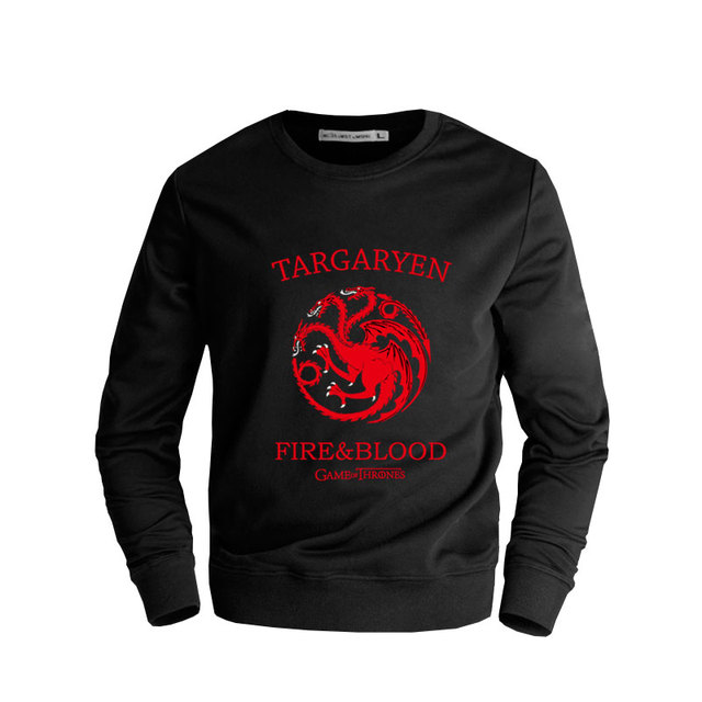 Top Quality Casual Game of Thrones Sweatshirts