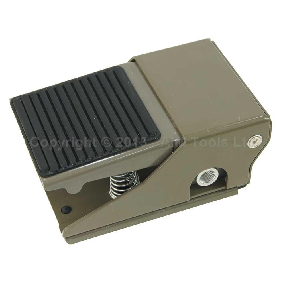 Foot Pedal Air Tools Pneumatic Machinery Control Switch 1/4 1 In 2 Out FV420-08