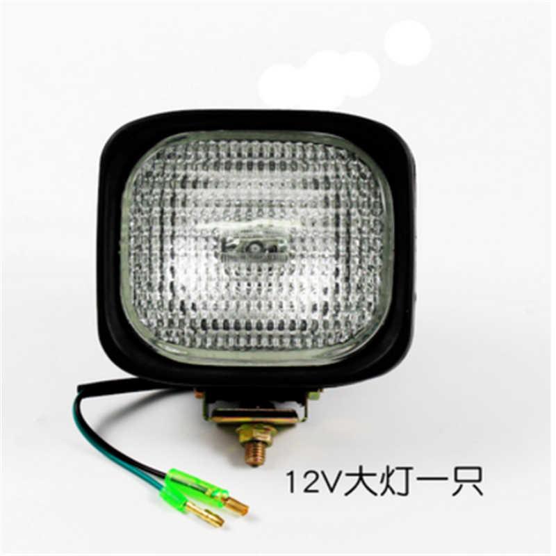 Бесплатная доставка вилочный погрузчик передняя фара квадратный отражатель света для Фошань H3 лампочка 12 V 24 V для hangfork Liugong Longgong светильник светодиодный
