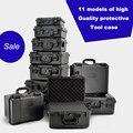 Высокое качество водонепроницаемая пластиковая коробка фотографический инструмент корпус аппаратные средства toolbox ударопрочный герметич...