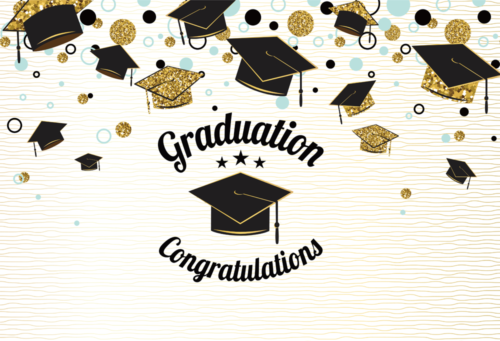 Photography Backdrops Grad Graduation Prom Party Class Of ...
