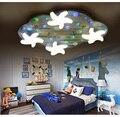 Monden детская потолочная комната для мальчиков и девочек  милые Креативные светодиодные лампы для спальни с рисунком звезд