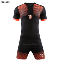 Survetement Football Soccer Jerseys Men Custom Football Uniforms Adult Soccer Set Suit Sports Kits Maillot De