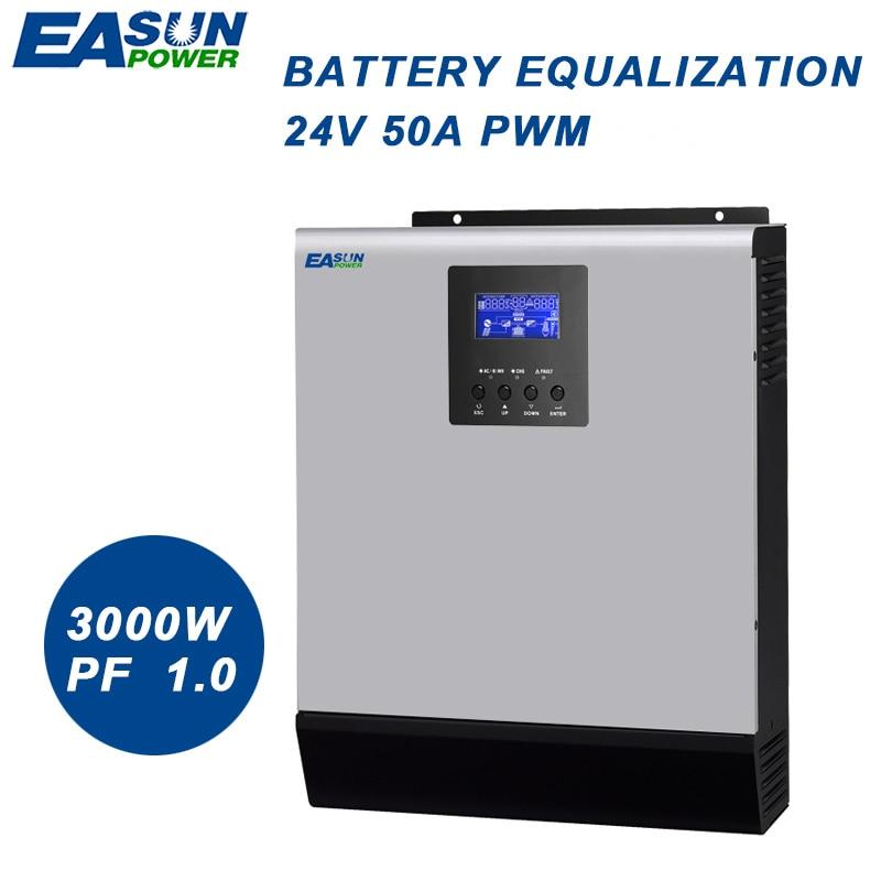 Easun Power 3000w Solar Inverter Pwm 3kva 24v Pure Sine