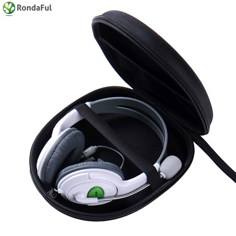 Portable Headphone Earphone Case Headset Carry Pouch For Sony V55 NC6 NC7 NC8 Data Line Storage Bag Headphone Carrying Pouch