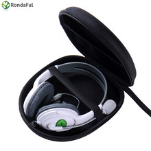 Portable Headphone Earphone Case Headset Carry Pouch For Sony V55 NC6 NC7 NC8 Data Line Storage Bag Headphone Carrying Pouch(China)
