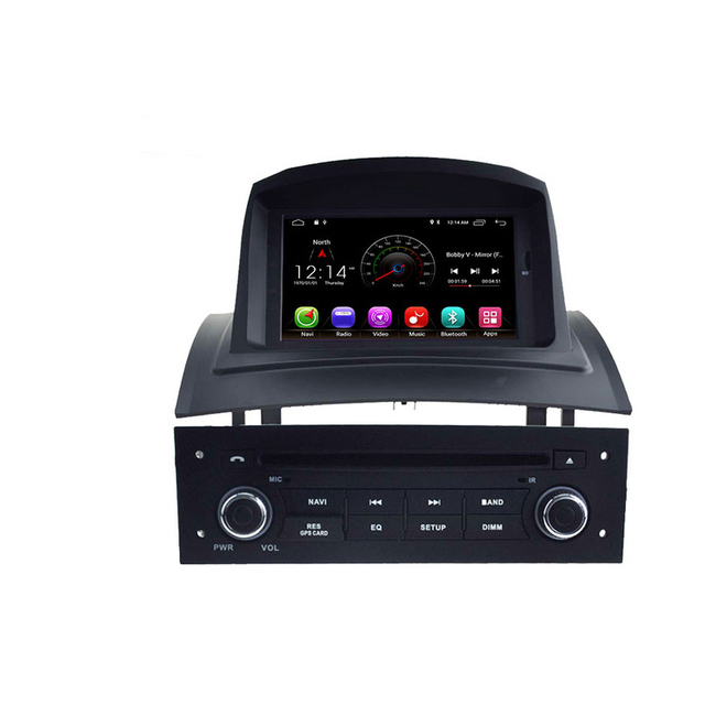 Android 8,1 reproductor de DVD del coche para RENAULT Megane Fluence 2002-2008 coche Multimedia Player navegación GPS WIFI 1 Din la Radio del coche