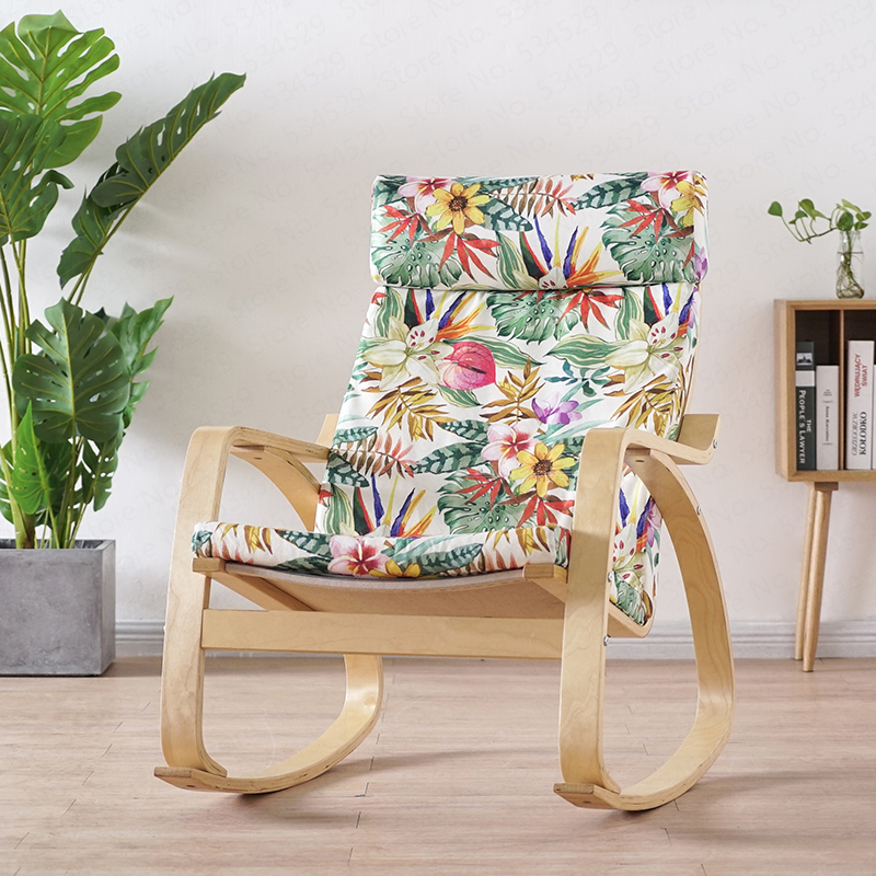 Fine Big Sale B Nordic Rocking Chair Lazy Couch Balcony Chair Creativecarmelina Interior Chair Design Creativecarmelinacom