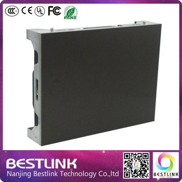 P1.923 высокого разрешения крытый светодиодный экран дисплея литого под давлением алюминиевый корпус 400*300 мм крытый видео стены rgb led экран
