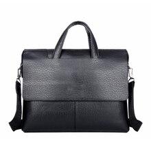 Luxury Brand Leather Men Bags vintage Business Leather Briefcase Men's Briefcase Mens Travel Bags Tote Laptop Bag Handbags