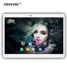 10.1 inch Tablet PC Google Android 6.0 Built-in 3G Call LTE Bluetooth Wifi RAM 4GB ROM 32GB  Bluetooth WI-FI Tablet PC