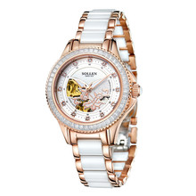 Ceramic Watch Women Rose Gold authentic fashion Watch  Relogio Feminino Dourado Ladies Watches Women Relojes De Mujer