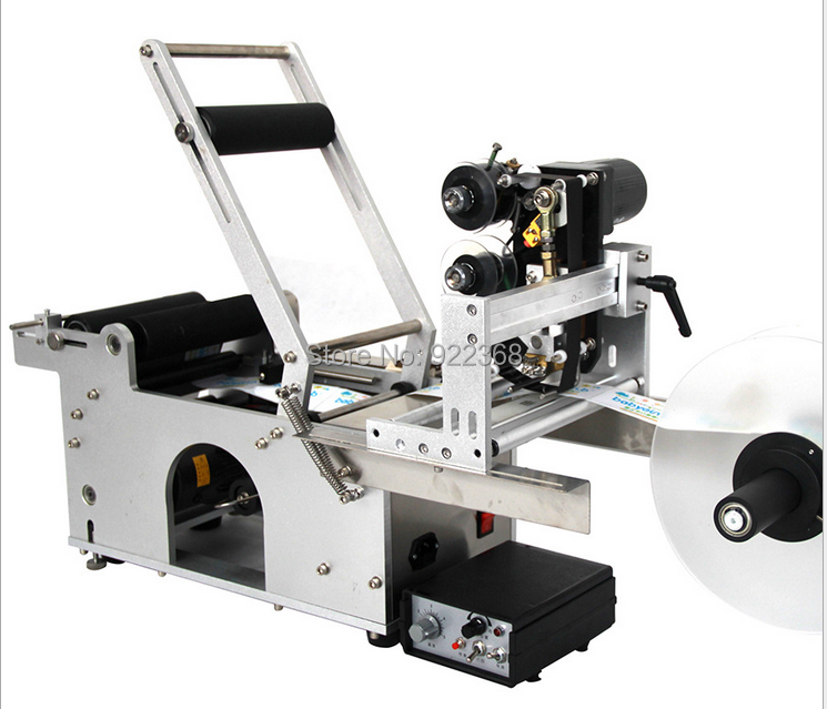 HTB1bFAdXvvsK1Rjy0Fi762wtXXa3 - manual round bottle labeling machine with date printing machine for PET,plastic,glass and metal bottle