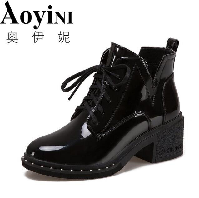 2019 Femmes Plateforme Cachée Talon Compensé Talon Haut Toile Lacets Creepers Sneakers Boot