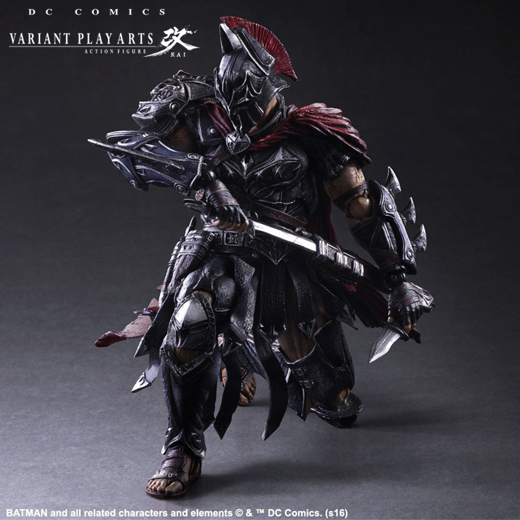 Play Arts Kai Batman 1/6 scale painted figure Variant variable Ver. Timeless Spartan PVC Action Figures Collectible Model Toys-3