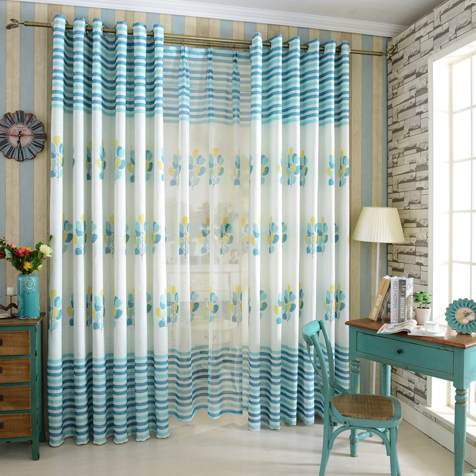 Aliexpress.com : Acquista Albero tende di lino per finestre tende ...