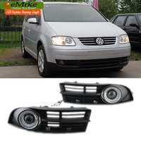 2005 2010 VOLKSWAGEN CADDY Fog Lamp Assembly Angel Eyes Fog Light Lamps Pairs