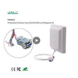 GALO dalekiego zasięgu darmowe SDK 860 960 Mhz 2 6 M zakres odczytu UHF RFID dalekiego zasięgu czytnik|Czytniki kart kontrolnych|Bezpieczeństwo i ochrona -