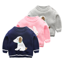 Baby sweater long sleeved spring and autumn newborn clothes wholesale