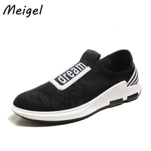 MEIGEL 2017 summer automn Mesh mens casual shoes boat loafers breathable Shoes Men  Comfortable Soft Male Shoes Chaussure 498