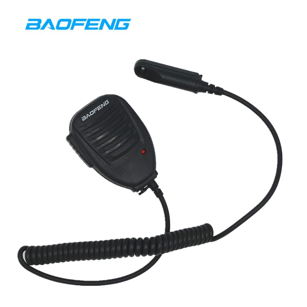 Baofeng UV-9R Speaker Mic Microphone Waterproof Two Way Radio Accessories For UV-9R PLUS GT-3WP UV-5S Retevis RT6 Walkie Talkie